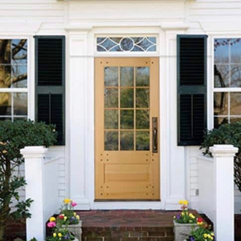 Replacement entry doors can transform the look of the front of your home for years to come!